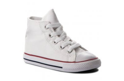 Black Friday 2020 Converse Scarpe da ginnastica Inf C/T All Star Hi 7J253C Optical White A buon mercato