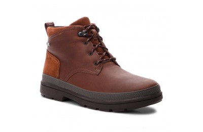 Clarks Stivali RushwayMid Gtx GORE-TEX 261355547 British Tan Leather A buon mercato
