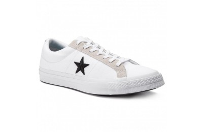 Black Friday 2020 Converse Scarpe sportive One Star Ox 160601C White/Black/Black A buon mercato