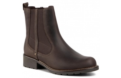 Black Friday 2020 Clarks Chelsea Orinoco Hot 261465654 Dark Brown Nub A buon mercato