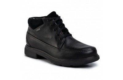 Clarks Polacchi Un Tread OnGTX GORE-TEX 261454487 Black Leather A buon mercato